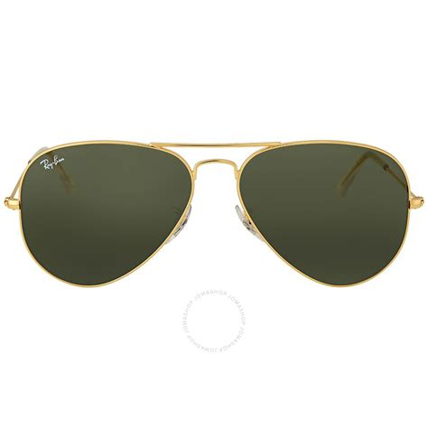 Kacamata Rayban Sunglas Sunglasses Rayban P30 2 Ban Aviator 58mm Classic Green Sunglasses Rb3025 L0205