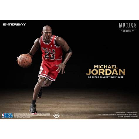 9 inch figures nba x enterbay michael 1 9 scale 9 inch figure