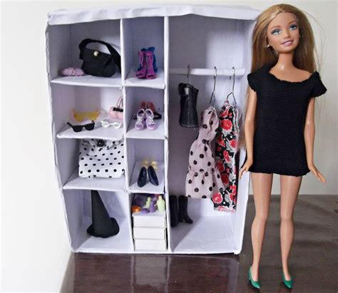 Diy Doll Closet by Diy Closet For Doll Tutorial Passo A Passo