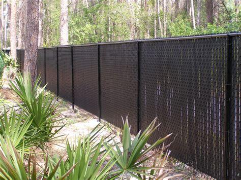 chain link fence vinyl slats google search black chain