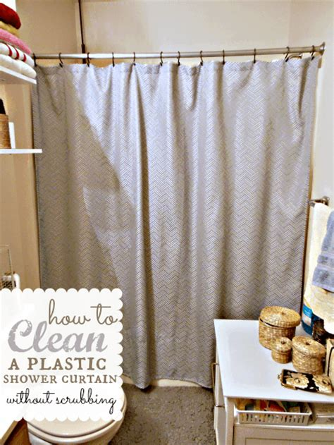 how to clean plastic shower curtain how to clean a plastic shower curtain