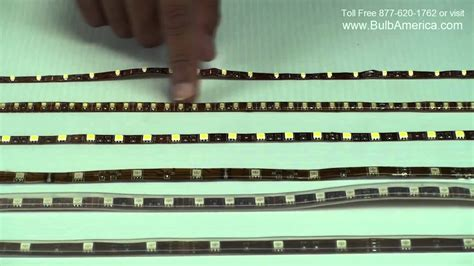 led strip differences epoxy  silicon  smd