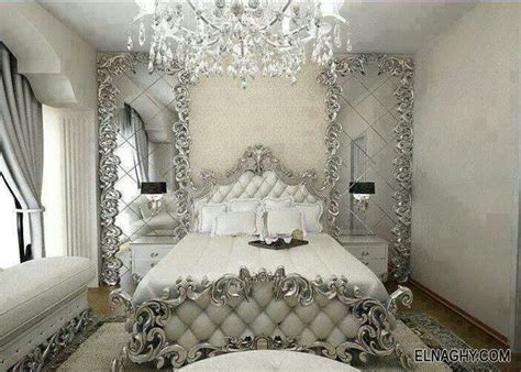 white and silver bedroom chambre blanc argent 233 chambres 224 coucher 233 l 233 gantes
