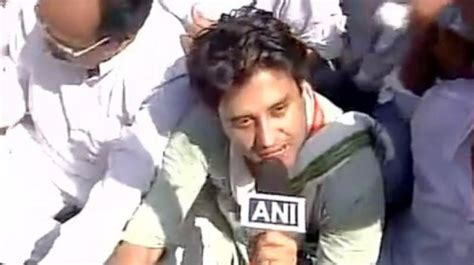Section 151 Ipc by Cong Leader Scindia Released On Personal Bond After Being