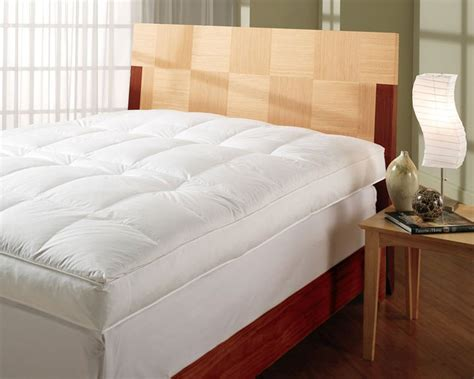 king size feather bed king size featherbed mattress topper
