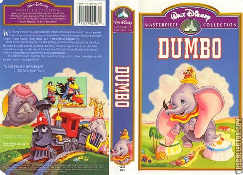 Brave Little Toaster Goes To Mars Dumbo Vhscollector Com Your Analog Videotape Archive