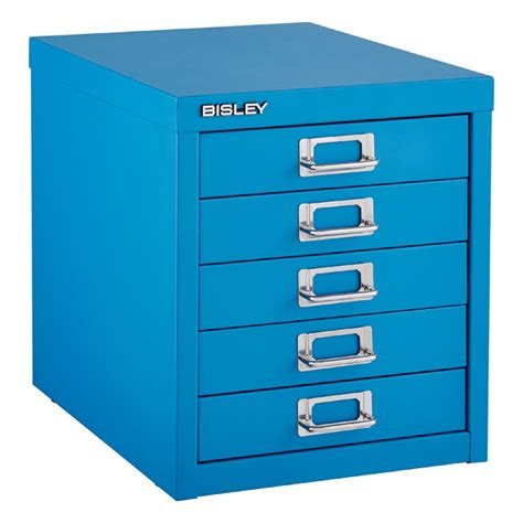 Bisley 5 Drawer Cabinet by Bisley Cerulean Blue 5 Drawer Cabinet The Container Store