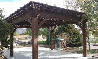 Timber Frame Pergola by Plan For A Carefree Amp Easy Diy Project 16 X 28 Timber