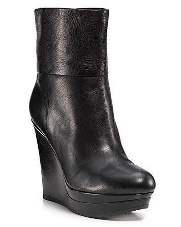 via spiga abbot wedge boots in black lyst