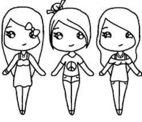 imagenes kawaii para dibujar de amistad son tres mejores amigas dibujos kawaii pinterest