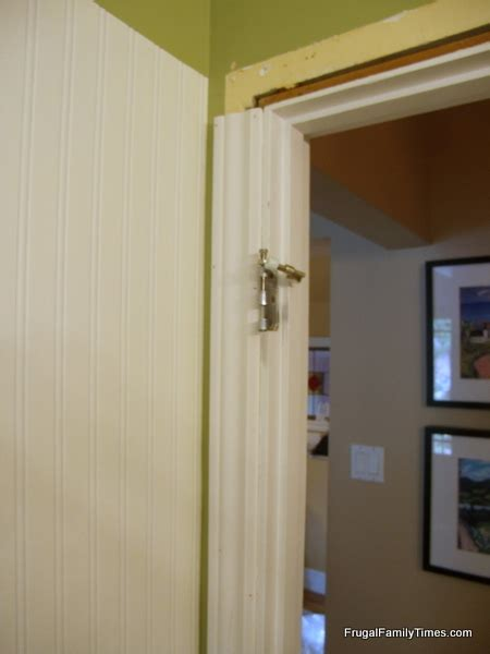 beadboard trim how to install beadboard paintable wallpaper frugal