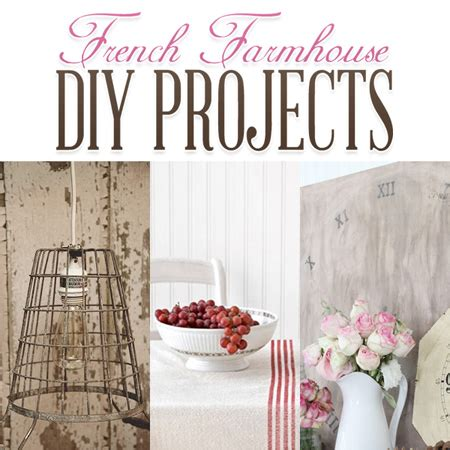 french farmhouse diy projects  cottage market