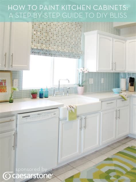 diy painted kitchen cabinets 10 best diy kitchen improvement tutorials tutorials press