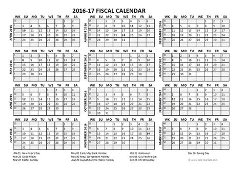 printable financial year calendar australia 2016 fiscal year calendar uk 04 free printable templates