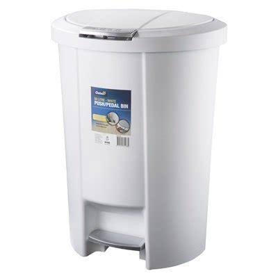 push pedal bin white bins pedal bin pedal bin product detail tensens cleaning