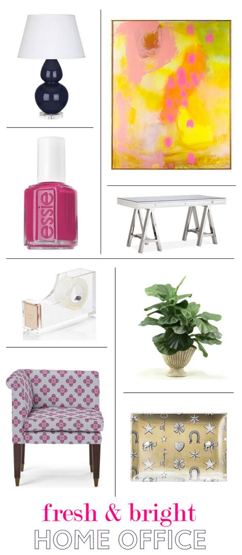 friday find colorful office supplies simplified bee get the look home office decor for her simplified bee