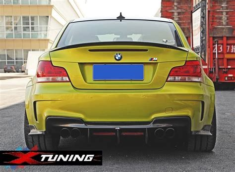 Bmw 1er M Tuning Teile by Heckdiffusor Carbon E82 1er M