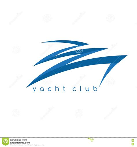fast boat vector abstract fast boat simple vector design stock vector