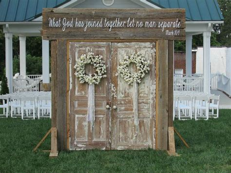Wedding Arch Rental Utah by 25 Best Ideas About Outdoor Wedding Doors On