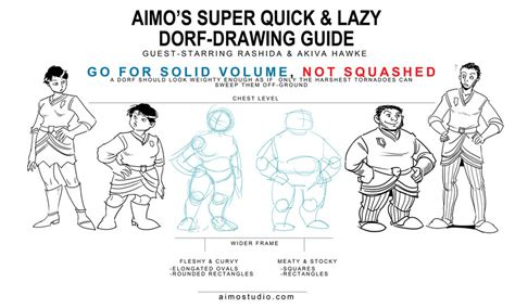 sketch your out a skill and style guide books da2 dorf drawing guide by aimo on deviantart