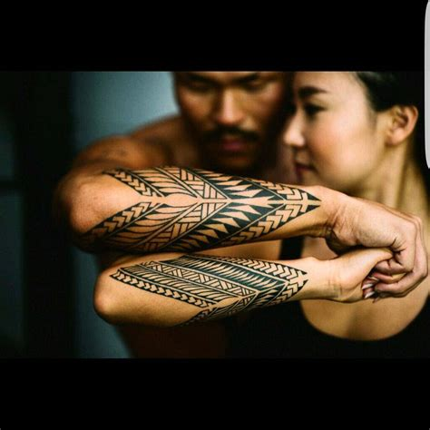 forearm tattoos for couples tribal style tattoos