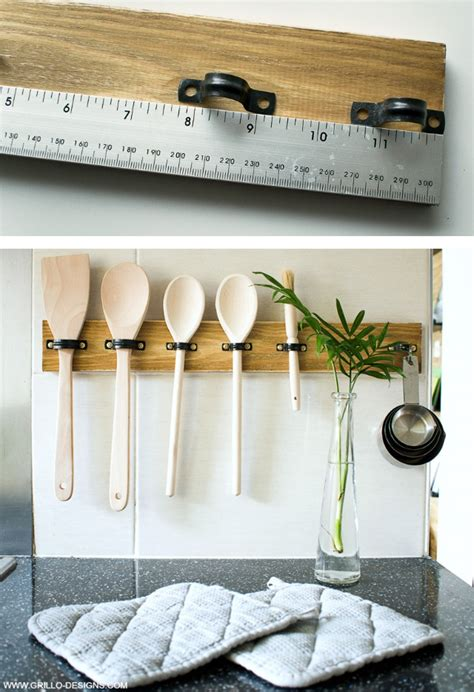 ladari cucina fai da te portautensili fai da te per la cucina ecco 15 idee per