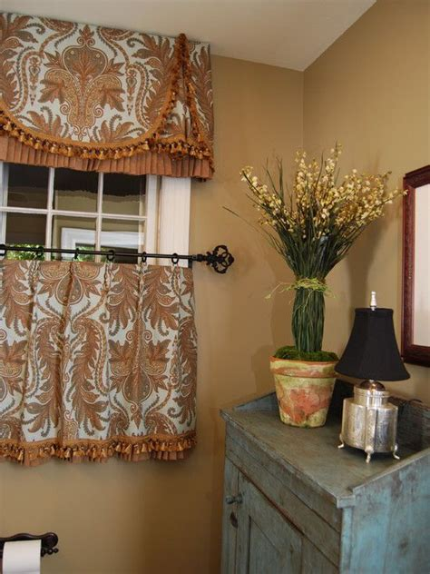 window decor powder room 17 best images about cafe curtain w valance on pinterest