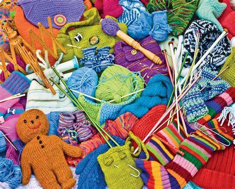 knitting puzzles knit knacks jigsaw puzzle puzzlewarehouse