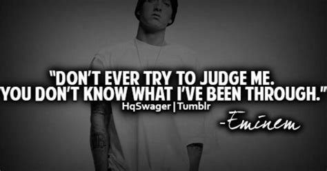 eminem you don t know lyrics don t judge me you don t know what i ve been through