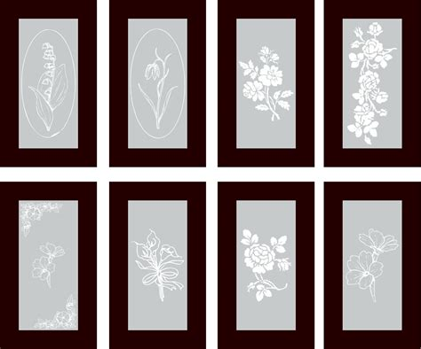 glass designs vinyl cabinet designs for frosted glass inserts