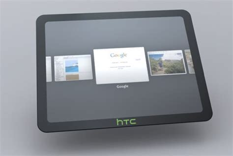 Tablet Android Htc htc unveils plans for 3 android tablets gizchina