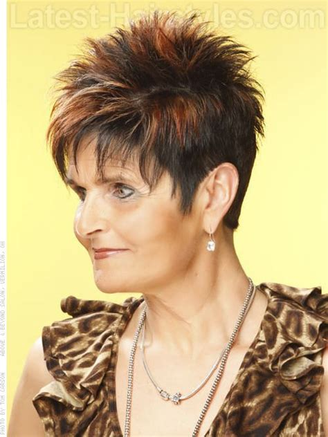 fresh new women hair cuts spiked hair cuts for women over 50 hairstyles for women