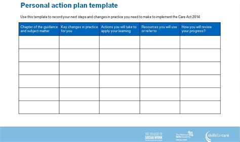 3 simple action plan templates word excel pdf