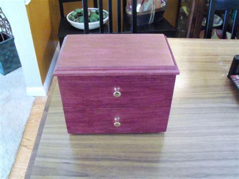 project purpleheart keepsake box woodworking