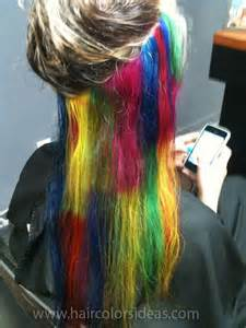 color underneath hair 42 free hair color pictures