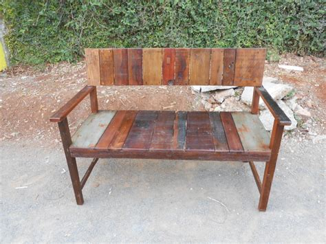rustic outdoor bench reclaimed old wood bench for outdoor style rustic