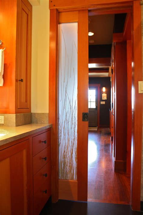 Glass Pocket Doors Bathroom Pocket Doors With Glass Spaces With Glass Pocket Door 1 Beeyoutifullife