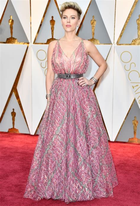 Johansson Criminally In Vogue by The Worst Dressed From The 2017 Oscars