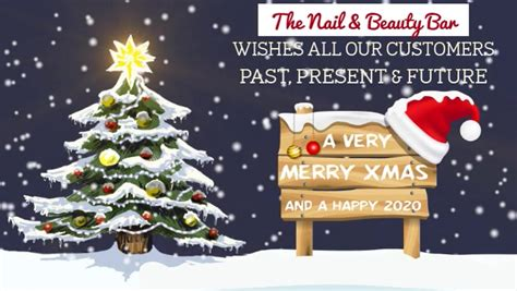 merry christmas   customers video template postermywall