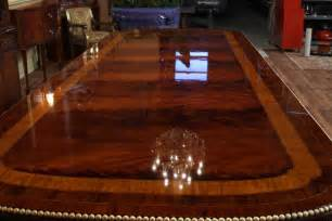 expensive dining room tables american empire style mahogany dining table