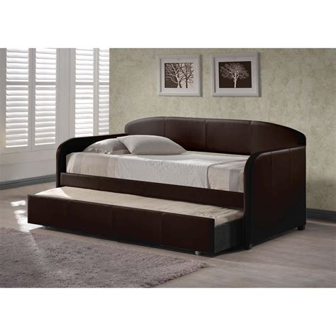 beds that look like couches hillsdale furniture springfield brown trundle day bed