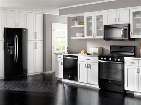 whirlpool black ice whirlpool at lowe s kitchen collections