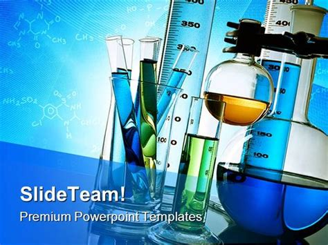 laboratory equipment science powerpoint templates and