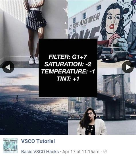 tutorial for vsco 1058 best vsco images on pinterest vsco filter