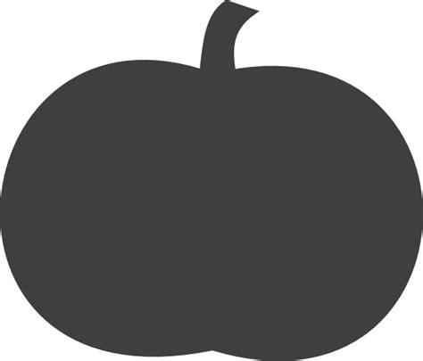 pumpkin silhouettes gray pumpkin clip at clker vector clip