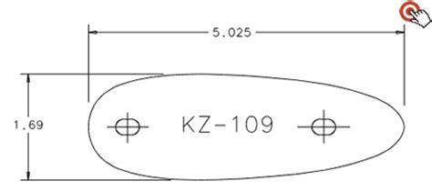 kick eez templates 28 kick eez templates pre fit kz 105 recoil pad kick