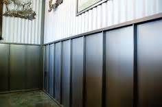 Tin Wainscoting Panels Rustic Steel Siding 2 1 2 Corrugated In Truten By