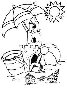 summertime coloring pages summer coloring pages coloringpages1001