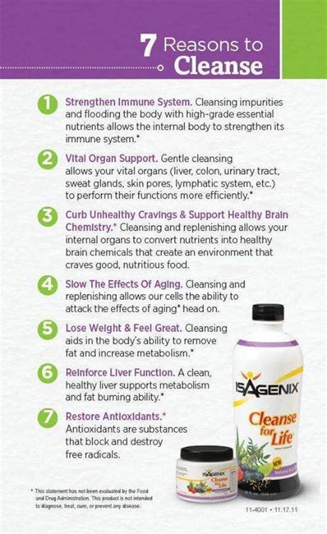 Isagenix Detox Ingredients by Isagenix Nutritional Cleanse Why Cleanse Empowering Goals