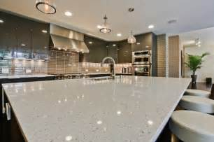 White Quartz Kitchen Countertops Vibrant White Quartz Countertops Makes Your Kitchen Looks Clean Mykitcheninterior